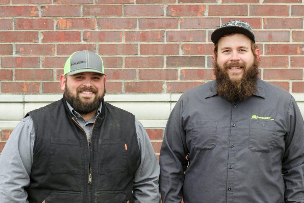 Elijah & Joe Stiner Owners Fence OKC