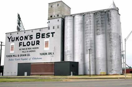 Yukon's Best Flower Grain Elevator