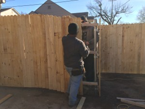 Fence OKC will complete your fence repairs.