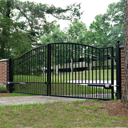 Access control fence okc oklahoma city builders