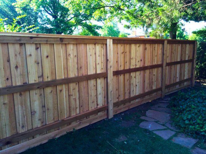 Residential Fence Project Gallery Fence Okc Okc Fence