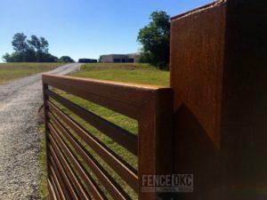 Custom Gate | FenceOKC.com