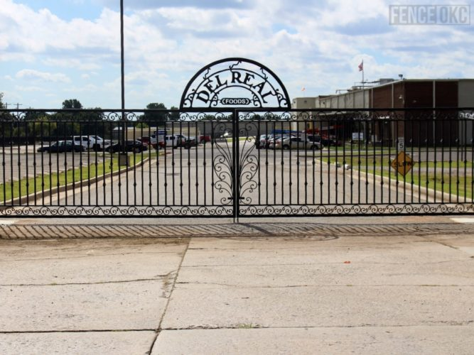 Automated gates installed in Oklahoma City, Oklahoma