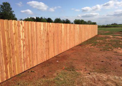 6' Superior Cedar Privacy Fence Installed in Yukon, Oklahoma by Fence OKC.