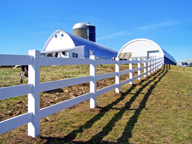 3 Rail Agricultural Fence