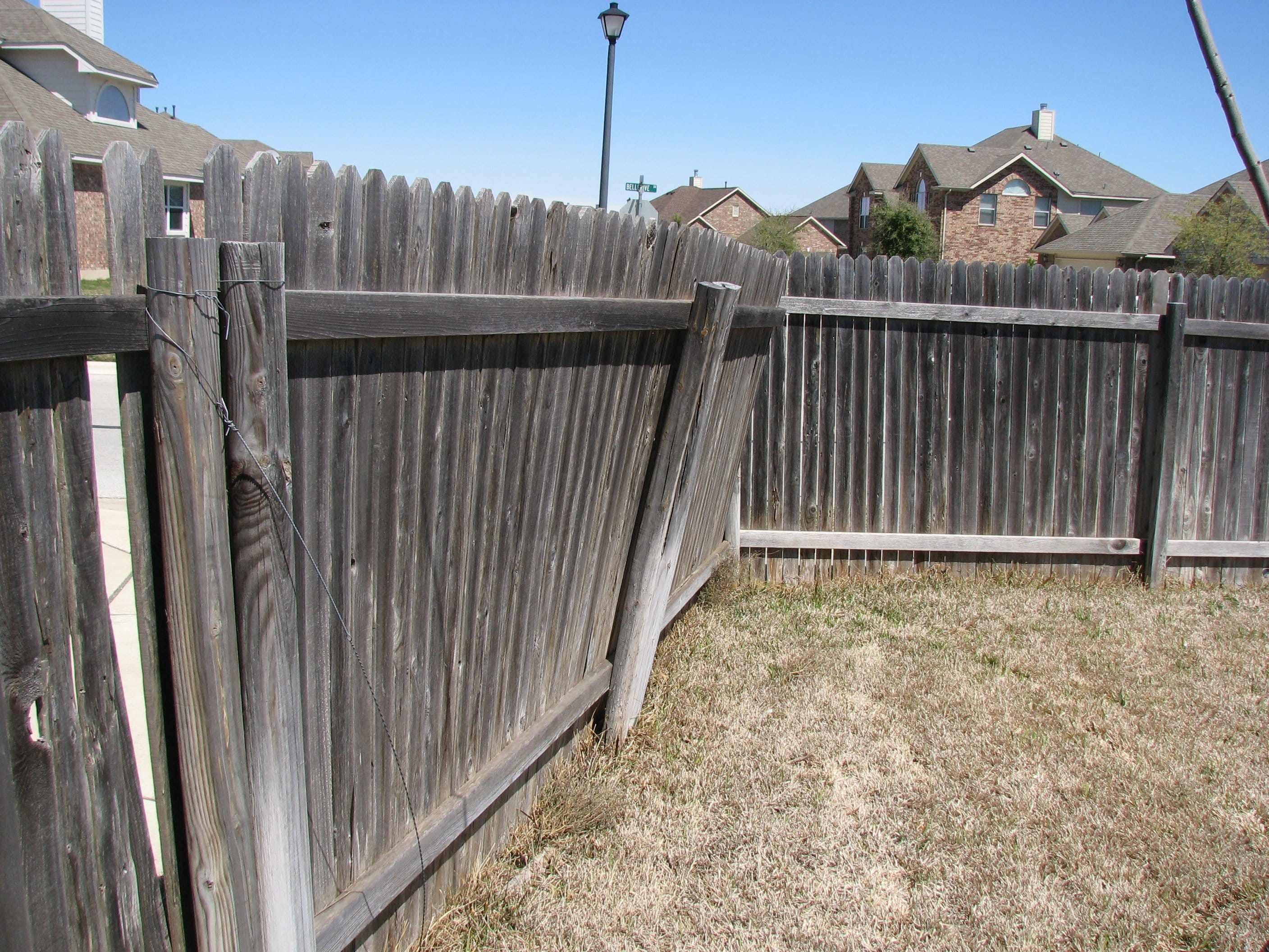 Should I Repair Or Replace My Fence Fence Okc Oklahoma