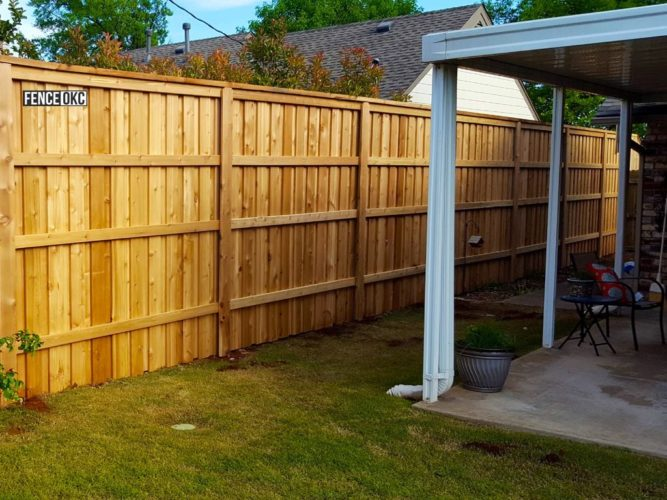 Once fence installation timeline is complete you can sit back and enjoy your new fence. | FenceOKC.com