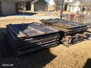Removing your old fence is part of the fence installation timeline.