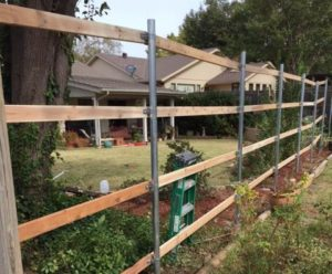 Contact us if you have any questions about the fence installation timeline.