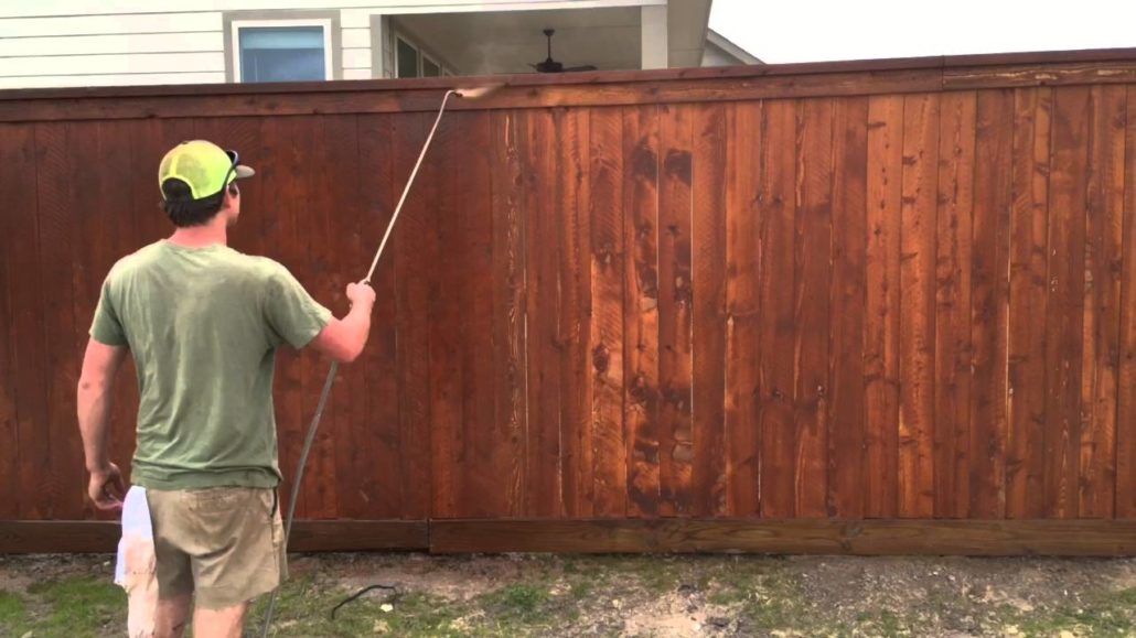 Let wood dry after installing fences before staining or sealing | FenceOKC.com