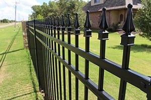 Ornamental iron fence OKC