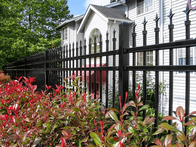 Home security fence for home defense by Fence OKC.