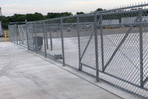 Commercial and Industrial automated gates by Fence OKC.