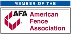 Fence OKC is a proud member of the American Fence Association.